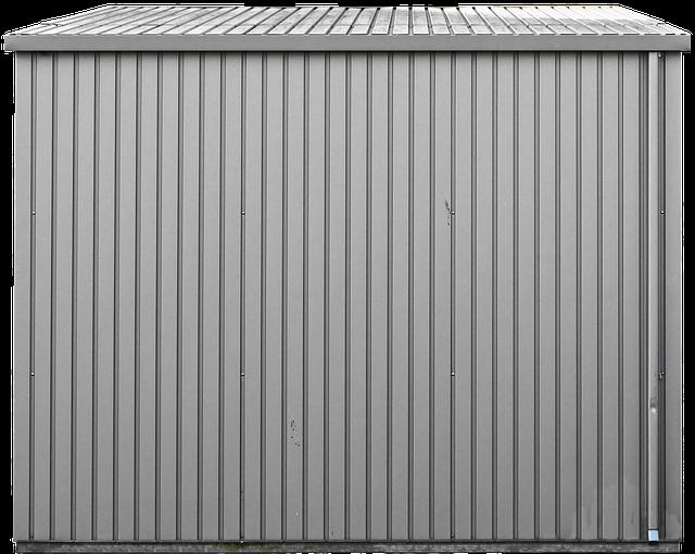 kit abri métallique